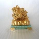 h162 1.jpg 150x150 Thiềm thừ vàng trên đế thủy tinh H162G