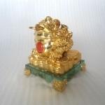 h162 150x150 Thiềm thừ vàng trên đế thủy tinh H162G