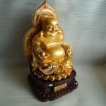 h235 1 150x150 Phật di lặc vàng lớn H235G