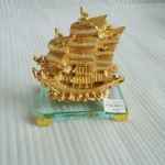 k167 21 150x150 Thuyền buồm vàng  nhỏ K167M