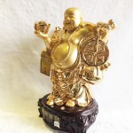 a119 1 150x150 Phật di lặc vàng kim A119