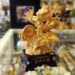 k154 2 copy 150x150 Rồng vàng kim đế gỗ K154M