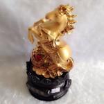 g110 150x150 Ngựa vàng trên như ý vàng đế tròn G110A