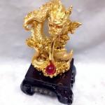 g092 1 150x150 Rồng vàng châu đỏ nén vàng G092A