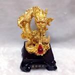 g092 2 150x150 Rồng vàng châu đỏ nén vàng G092A