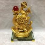 g093 2 150x150 Rồng vàng phun châu trên nguyên  bảo G093A