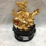 g094 2 150x150 Rồng vàng như ý đế tròn G094A