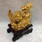 g095 1 150x150 Rồng vàng ôm nguyên bảo G095A