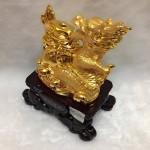 g095 2 150x150 Rồng vàng ôm nguyên bảo G095A