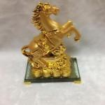 g107 1 150x150 Ngựa vàng nguyên bảo đế thủy tinh G107A