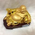g137 150x150 Phật di lặc vàng đế gỗ G137A