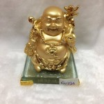 g139 150x150 Phật di lặc quảy vàng trên đế thủy tinh G139A