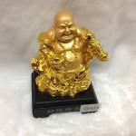 g143 2 150x150 Phật di lặc vàng gánh gậy như ý G143A