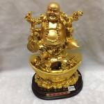 g148 1 150x150 Phật di lặc gánh tiền vàng, hồ lô G148A