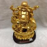 g148 2 150x150 Phật di lặc gánh tiền vàng, hồ lô G148A