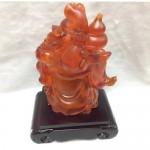g154 1 150x150 Phật di lặc lưu ly đỏ có đèn G154A