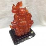 g154 150x150 Phật di lặc lưu ly đỏ có đèn G154A