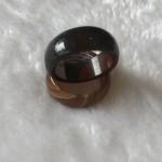 IMG 5484 150x150 Nhẫn mã não nâu bản tròn nhỏ S6469