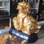 c017 2 150x150 Chó vàng ôm mâm tài lộc C017A
