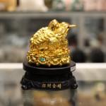 c065a coc vang 1 150x150 Thiềm thừ vàng trên đế gỗ xoay C065A
