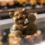D298 150x150 Heo ôm tiền vàng đồng D298