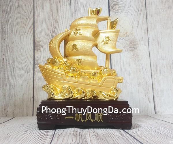 ln144 thuyen buom vang 2 Thuyền buồm vàng chở kim nguyên bảo LN144