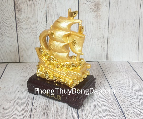 ln144 thuyen buom vang Thuyền buồm vàng chở kim nguyên bảo LN144