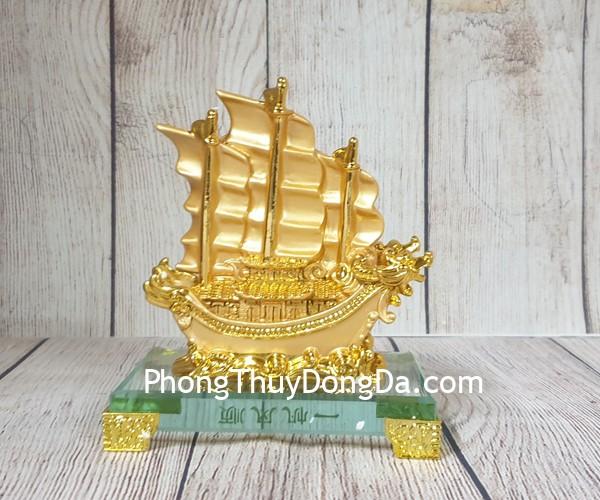 ln146 thuyen buom rong nho1 Thuyền buồm song long lướt sóng vàng LN146