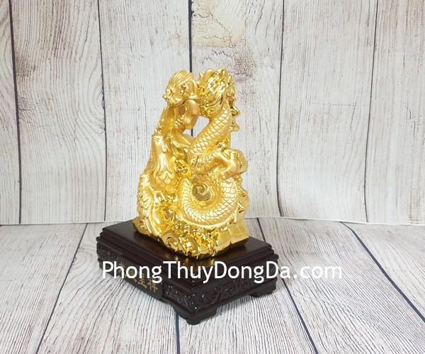 ln158 long phung luon may vang Thần rồng tiên phụng vàng lượn mây nhỏ LN158