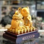 tm011 chuot vang tui vang 1 150x150 Chuột vàng kim ôm túi vàng TM011
