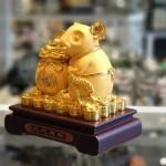 tm011 chuot vang tui vang 150x150 Chuột vàng kim ôm túi vàng TM011